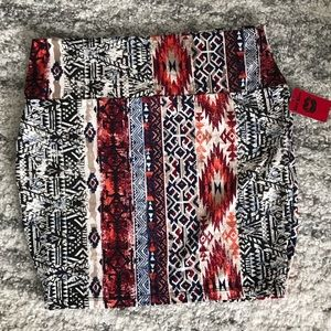 🆕Short Pencil Pattered Skirt